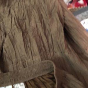 Alfred Dunner Skirts - Alfred Dunner Crinkle Beaded Skirt, Size 12